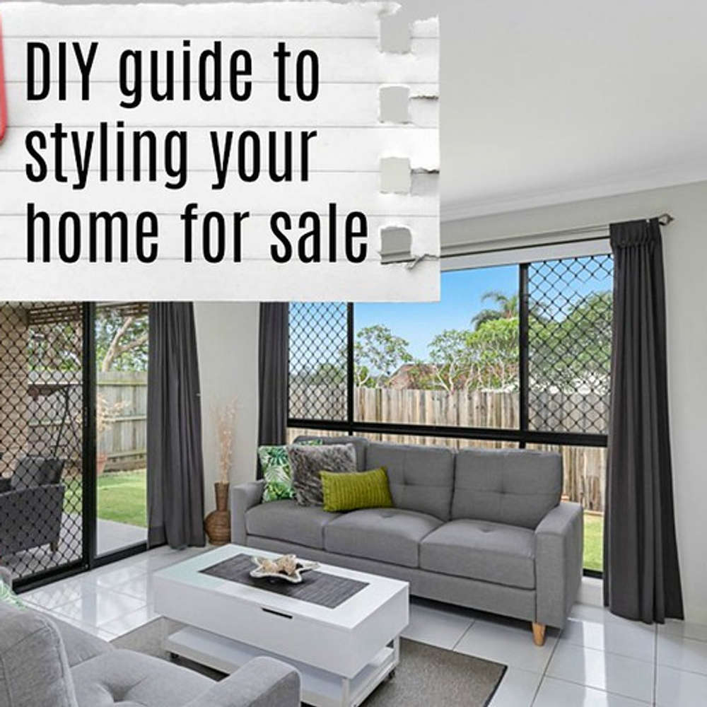 How I Styled My Home for Sale | | Middle Aged Mama