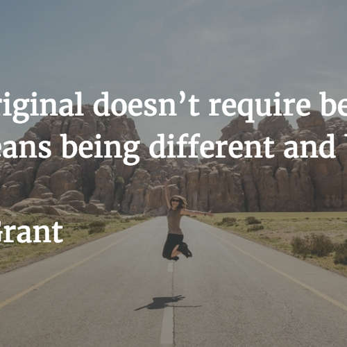 Originals by Adam Grant, Sheryl Sandberg - Summary