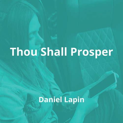 Thou Shall Prosper by Daniel Lapin - Summary